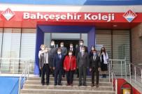 Şırnak İl Milli Eğitim Müdürü Şener, Bahçeşehir Kolejini Ziyaret Etti