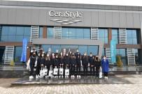 Turkuaz Seramik OSB'den Sponsor Ziyareti