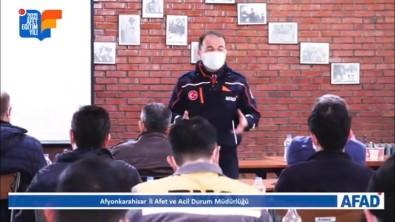 Alkaloid Fabrikasında Afet Farkındalık Eğitimi Düzenlendi