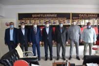 Başkan Geylani'den Şehit Aileleri Derneğine Anlamlı Ziyaret