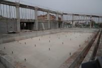 Eyyübiye'de Yarı Olimpik Havuz Çalışmaları Sürüyor