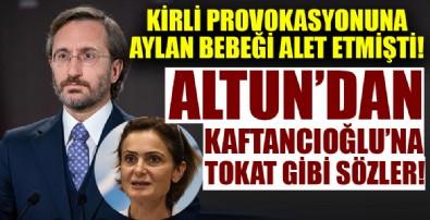 Fahrettin Altun'dan Kaftancıoğlu'na tokat gibi sözler!