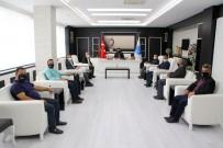 Gazetecilerden Rektör Karacoşkun'a İade Ziyaret