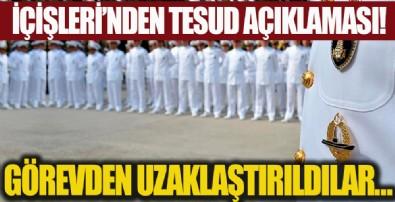 İçişleri Bakanlığı'ndan TESUD açıklaması: Görevden uzaklaştırılmıştır....