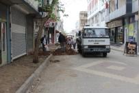 Kahta'daki İşlek Cadde Ve Sokaklar Sil Baştan Yenileniyor