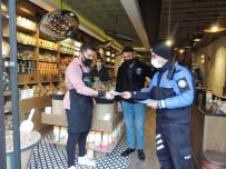 Kars'ta Polis Esnafı Bilgilendiriyor