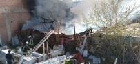 Keresteciler Sitesinde Korkutan Yangın