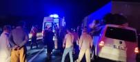 Mardin'de Hafif Ticari Araç Tıra Arkadan Çarptı Açıklaması 6 Yaralı