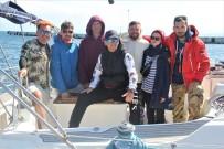 Seyahat Kısıtlamasına Rağmen Sezonun İlk Rus Turistleri Sinop'a Geldi