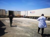 Suriye'ye 7 Tır İlaç Ve Tıbbı Malzeme