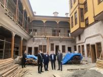 Tarihi Velipaşa Hanı'ndaki Restorasyon Çalışmalarında Sona Gelindi