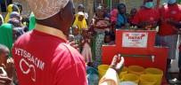 Tomarzalı Hayırsever Hanife Ada Açıklaması 'Afrika'da 14. Su Kuyumuz Dualar Eşliğinde Açıldı'