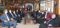 Türk-İş Genel Mali Sekreteri Ağar'dan GMİS'e Ziyaret