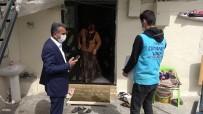 Yardım Kolileri İhtiyaç Sahiplerinin Evlerine Kadar Götürülüyor