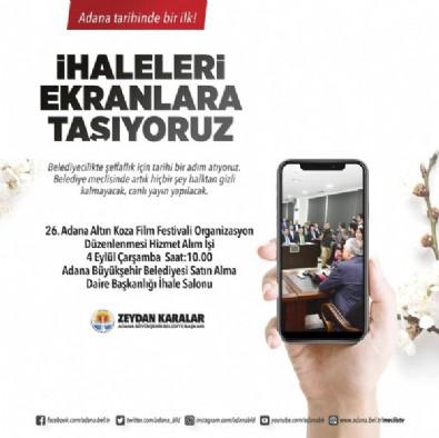 Adana Büyükşehir Başkanı Zeydan Karalar çark etti