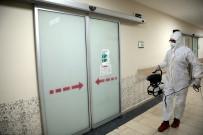 Akhisar Belediyesi Hastaneleri Dezenfekte Etti