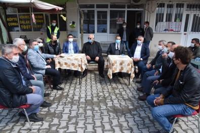 Akhisar'da Zarar Gören Menfezler Onarılmaya Başlandı