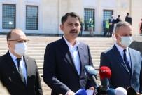 Çevre Ve Şehircilik Bakanı Kurum, Uzunmehmet Camii'ni İnceledi