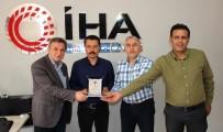 İGD'den İHA Muhabiri Ahmet Arslantaş'a Paket
