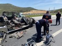 Kahramanmaraş'ta Trafik Kazası Açıklaması 1 Ölü, 2 Yaralı