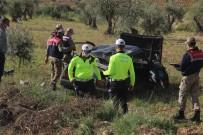 Otomobil Şarampole Yuvarlandı Açıklaması 2 Yaralı