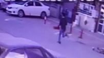 Para İçin Adam Bıçaklayan Şüpheli Kamerada