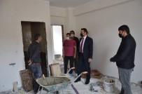 Tercan'da İlçe Özel İdaresinin Yeni Hizmet Binası İnşaatı Hızla Devam Ediyor