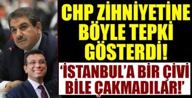 Tevfik Göksu'dan CHP'li İBB yönetimine bomba eleştiri: Bir çivi bile çakmadılar!