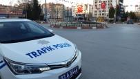 Afyonkarahisar'da 82 Saatlik Sokağa Çıkma Kısıtlaması Başladı