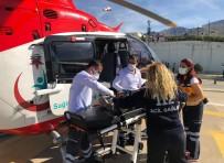 Ambulans Helikopter Hasta Çocuk İçin Havalandı