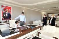 Çocuk Başkan Say, Ercengiz'i Makamında Ağırladı
