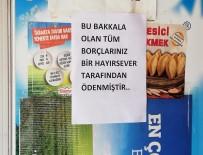 Gizemli Hayırsever Bakkal Bakkal Dolaşıp Tüm Borçları Kapattı