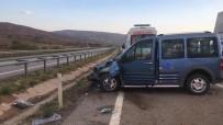 Hafif Ticari Araç Takla Attı Açıklaması 7 Yaralı