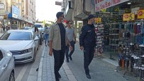 Hatay'da Polisten Maske Denetimi