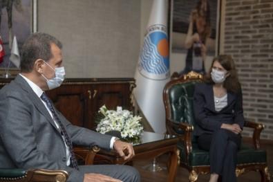 Hollanda Büyükelçisi Kwaasteniet'ten Seçer'e Ziyaret