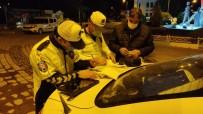 Kırıkhan'da Sokağa Çıkma Kısıtlaması Dolayısıyla Denetim Yapıldı