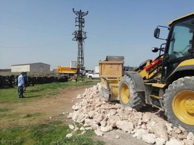 Kırsal Mahallelerde Stabilize Yol Çalışması
