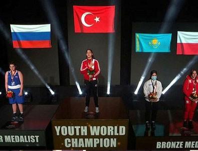 Milli sporcu dünya şampiyonu!