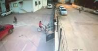 Siteden Bisiklet Çalan Çocuklar Kameralara Yakalandı