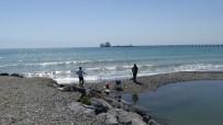 Türkiye'nin İlk Doğalgaz Depolama Gemisi Ertuğrul Gazi, Hatay'da