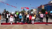 23 Nisan'da Gökyüzüne Balonlar Bırakıldı