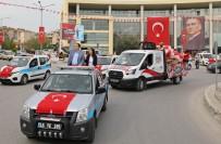 Akhisar Belediyesi'nden Coşkulu 23 Nisan Konvoyu