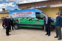Bayburt'ta Hayvan Ambulansı 'Haybulans' Hizmete Girdi