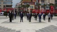 Çanakkale'de Sosyal Mesafeli 23 Nisan Kutlaması