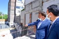 Eski Özel İdare Binası Alanında Yapılacak Olan İş Merkezi Çalışmaları Başladı