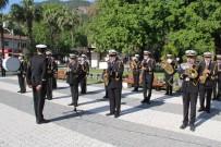 Fethiye'de 23 Nisan Sade Bir Törenle Gerçekleşti