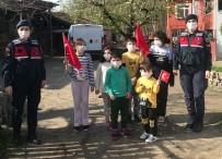 Kırsal Mahallelerdeki Çocuklara 23 Nisan Sürprizi