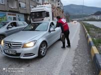 Kızılay Temsilciliği Sürücülere İftarlık İkramında Bulundu