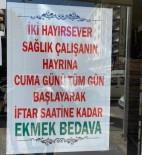 Kızıltepe'de Fırında Sağlık Çalışanları Hayrına Ücretsiz Ekmek Dağıtımı