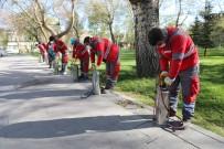 Kocasinan Belediyesi Sokağa Çıkma Kısıtlamasında Parkları İlaçladı